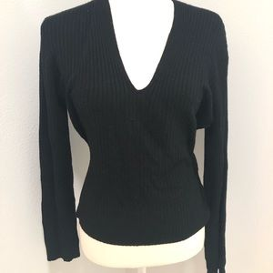 Sweater I.N.C. Medium petite black 3/$15?ladies